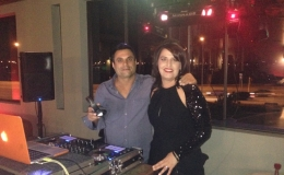 Perth Party Dj - Dj Avi with party girl.jpg