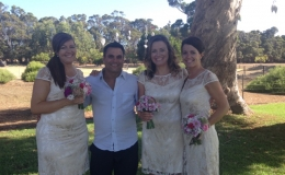 Perth Wedding Dj - Dj Avi With bridemaids.jpg