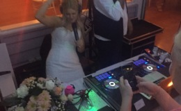 Perth Wedding Dj - Dj Avi party with Bride.jpg